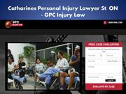 Catharines Personal Injury Lawyer St.