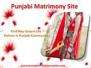 Punjabi Matrimony – Come Find Your Match