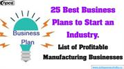 25 Best Business Plans to Start an Industry