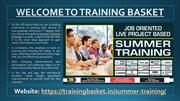 Best Summer Training in Noida - 6 Weeks Summer Training in Noida