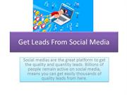 Get Leads From Social Media