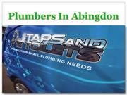 Plumbers In Abingdon