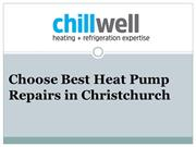 Choose Best Heat Pump Repairs in Christchurch