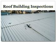 Roof Building Inspections