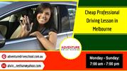 Cheap Professional Driving Lesson in Melbourne