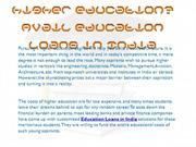Willing to pursue higher education Avail education loans in India