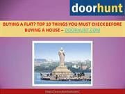 Flats for Sale in Hyderabad - Top 10 Things You Must Check Before Buyi
