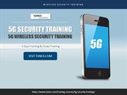 5G Security Training  5G Wireless Security Training