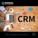 CRM Technology Users Email List | Narwhal Data Partners
