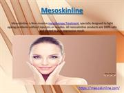 Mesoskinline - Non -Invasive Mesotherapy Treatment