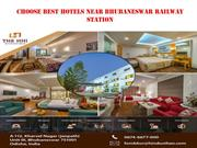 Choose Best Hotels Near Bhubaneswar Railway Station