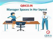 Manager Spaces in Hsr layout