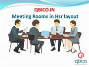 Meeting Rooms in Hsr layout