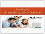 Data Entry Projects Outsourcing Services