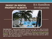 Invest in Rental Property Alberta