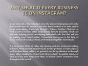 Why Should Every Business Be On Instagram