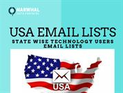 USA STATE WISE TECHNOLOGY USERS EMAIL LISTS