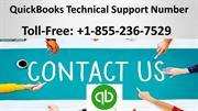 QuickBooks Technical Support Number +1-855-236-7529