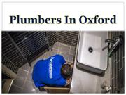 Plumbers In Oxford