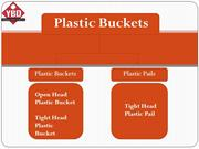 Plastic Buckets For Sale