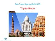 Best Travel Agency Delhi NCR