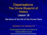 Dispensations 18