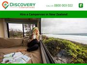 Hire a Campervan in New Zealand