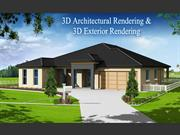 3D Architectural rendering and 3D Exterior rendering