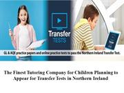 The Finest Tutoring Company for Children in Northern Ireland