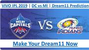 DC VS MI Prediction