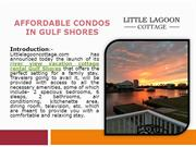 Affordable Condos in Gulf Shores