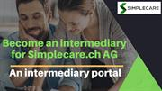 Online Portal for Insurance Intermediary - Simplecare.ch AG