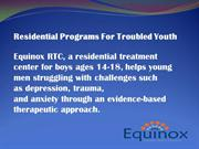 Residential Programs For Troubled Youth