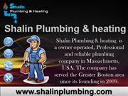 Professional Plumbing Services in Peabody – Shalin Plumbing & Heating