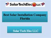 Best Florida Solar Service in 2019: Solar Tech Elec LLC