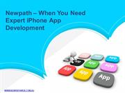 Newpath – When You Need Expert iPhone App Development