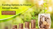 Funding Options to Finance Abroad Studies