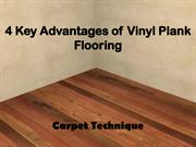 4 Key Advantages of Vinyl Plank Flooring
