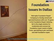 Foundation Issues In Dallas
