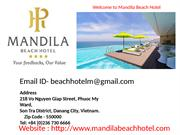 Mandila Beach Hotel – One of the Best Hotels in Danang
