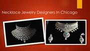 Necklace Jewelry Designers In Chicago