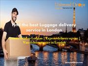 Find the best Luggage delivery service in London