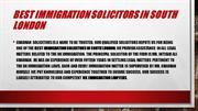 Best Immigration Solicitors In South London