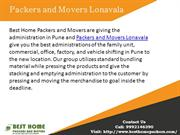 Packers and Movers Lonavala | Packers and Movers in Pune