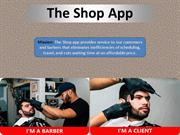 Book Your Barber via The Shop App - The Shop App April 2019