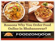 Reasons Why You Order Food Online in Bhubaneswar