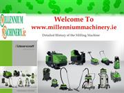 Detailed History of the Milling Machine