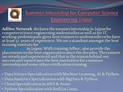 Summer Internship for Computer Science Engineering Jaipur