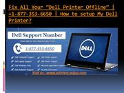 Dell wireless printer | Dell printer offline | Dell printer setup