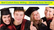 Best Custom Essay Writing – University Essay Services